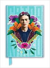 Frida Kahlo Blue Foiled Journal   auteur onbekend   9781787555631