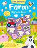 Felt Stickers Farm Play Scene Book   Kit Elliot  