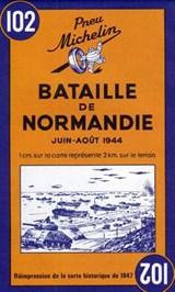 Battle of Normandy - Michelin Historical Map 102 | Michelin | 9782067002623
