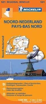 531 Noord-Nederland - Pays-Bas Nord   Michelin   9782067183360