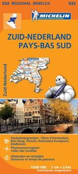 532 Zuid-Nederland - Pays-Bas Sud   Michelin   9782067183407
