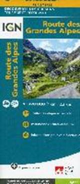 Route des Grandes Alpes 1 : 220.000 | auteur onbekend | 9782758540939
