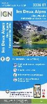 IGN 3336ET les Deux Alpes. Olan-Muzelle. PN des Ecrins 1:25 000 wandelkaart | auteur onbekend | 9782758545552