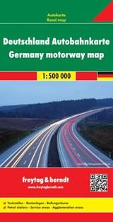 F&B Duitsland Autobahnkarte   auteur onbekend   9783707909517