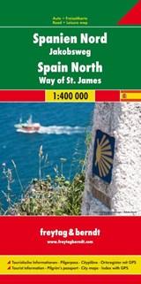F&B Spanje Noord, Camino de Santiago   auteur onbekend   9783707915464