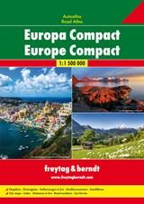 Europa Compact Wegenatlas F&B   auteur onbekend   9783707915501