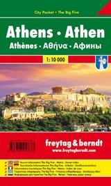 Athen, Stadtplan 1:10.000, City Pocket + The Big Five | auteur onbekend | 9783707917673