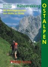 Hüttentrekking Band 1: Ostalpen - wandelgids Oostalpen van hut naar hut   unknown   9783763330072