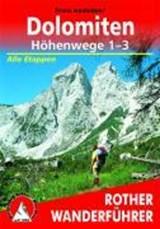 Dolomiten Höhenwege 1-3 | Franz Hauleitner | 9783763331031