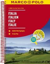 Italië Wegenatlas Marco Polo   auteur onbekend   9783829736855
