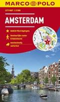 MARCO POLO Cityplan Amsterdam 1:12 000   auteur onbekend  