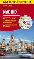 MARCO POLO Cityplan Madrid 1:12 000 - stadsplattegrond   auteur onbekend  
