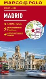 MARCO POLO Cityplan Madrid 1:12 000 - stadsplattegrond | auteur onbekend | 9783829741750