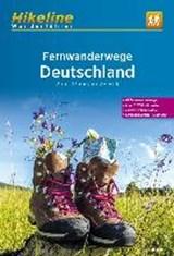 Fernwanderwege Deutschland - Hikeline Wanderführer - lange afstandswandelen Duitsland | Esterbauer Verlag | 9783850007566
