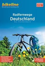 Deutschland Radfernwege Das Standardwerk + kaart   auteur onbekend   9783850008587