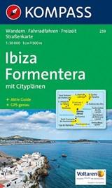 Kompass WK239 Ibiza, Formentera | auteur onbekend | 9783854911739