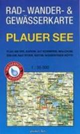 Rad-, Wander- und Gewässerkarte Plauer See | auteur onbekend | 9783866361010