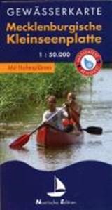 Gewässerkarte Mecklenburgische Kleinseenplatte 1 : 50 000 | auteur onbekend | 9783866369962