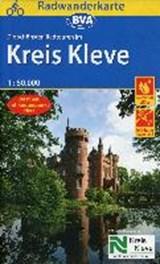 Radwanderkarte BVA Radwandern im Kreis Kleve 1:50.000   auteur onbekend   9783870738921