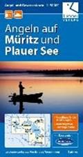 Angel- und Gewässerkarte Müritz und Plauer See 1:50.000 | auteur onbekend |
