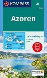 Kompass WK2260 Azoren | auteur onbekend | 9783990442678