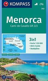 Kompass WK243 Menorca | auteur onbekend | 9783990443828