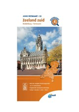 Fietskaart Zeeland zuid 1:66.666   Anwb   9789018047337