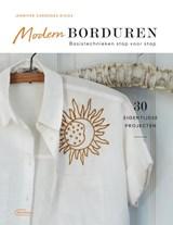 Modern borduren   Jennifer Cardenas Riggs   9789022337066
