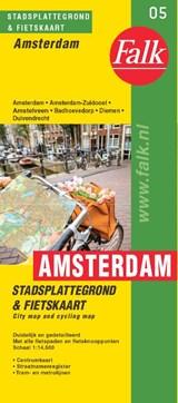 Falk stadsplattegrond & fietskaart Amsterdam | auteur onbekend | 9789028700000