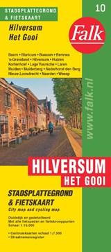 Falk stadsplattegrond & fietskaart Hilversum 't Gooi | auteur onbekend | 9789028700635