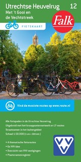 Falk VVV fietskaart 12 Utrechtse Heuvelrug   auteur onbekend   9789028701076
