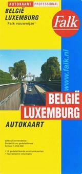Autokaart Belgie Luxemburg   auteur onbekend   9789028717794
