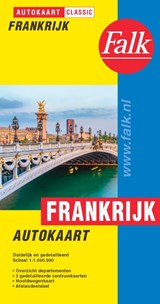 Falk autokaart Frankrijk classic   auteur onbekend   9789028730434