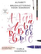 Alfabet! Brushlettering voor iedereen | Carla Kamphuis | 9789043922227