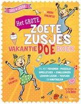 Het grote Zoete Zusjes vakantiedoeboek | Hanneke de Zoete | 9789043922906