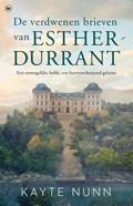 De verdwenen brieven van Esther Durrant   Kayte Nunn  