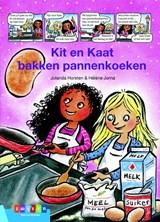 Kit & Kaat bakken pannenkoeken   Jolanda Horsten   9789048732906