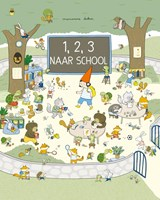 1,2,3 naar school!   Marianne Dubuc   9789059249837