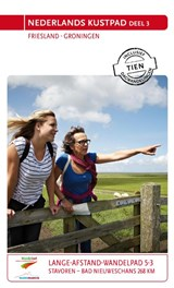 Nederlands Kustpad Friesland - Groningen | Sietske de Vet | 9789071068881