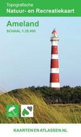 Wandelkaart Ameland 1:25.000 | auteur onbekend | 9789077350973