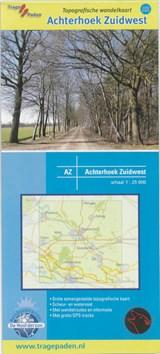 Topografische Wandelkaart Achterhoek Zuidwest | Wolfs Wandelplan | 9789081396158
