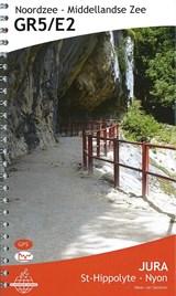 GR5 / E2 Jura: St-Hippolyte - Nyon (Meer van Geneve) wandelgids | auteur onbekend | 9789083086958