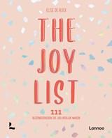 The Joy List   Elise De Rijck   9789401478519