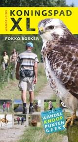 Wandelgids Koningspad XL  - wandelen Friesland | Fokko Bosker | 9789460224546