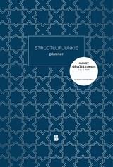 Structuurjunkie planner (A4)   Cynthia Schultz   9789463490955