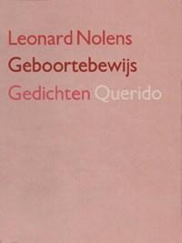Geboortebewijs | Leonard Nolens |