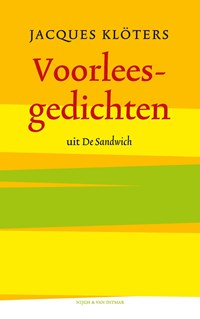 Voorleesgedichten uit de Sandwich | Jacques Klöters |