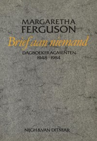 Brief aan niemand | Margaretha Ferguson |