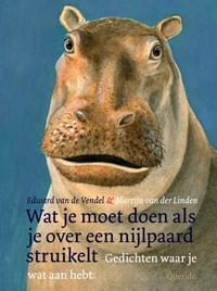 Wat je moet doen als je over een nijlpaard struikelt   Edward van de Vendel  