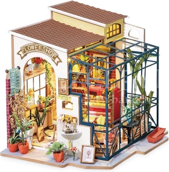Robotime Emily's Flower shop - bloemenwinkel